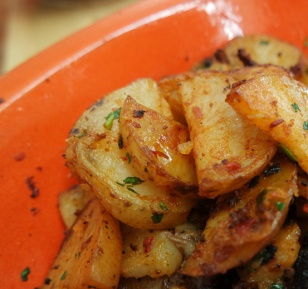 Roasted Potatoes with Harissa